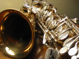 close up sax
